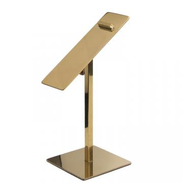 Spray Painted Retail Display Stands Shoe Shop Display Stands Silver / Red