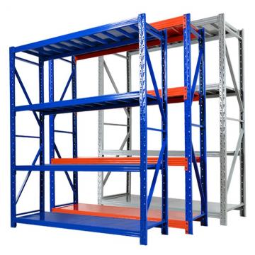 Industrial Warehouse Storage Steel Slotted Angle Light Duty Racking