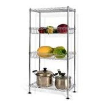 Balcony Plant Cultivation Multi-Layer Silver Wire Shelving