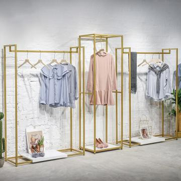 Good Design Removable Clothing Stores Display Stand Clothes Rack