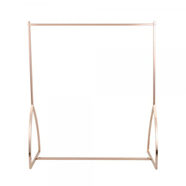 Adjustable Double Sided Hanging Garment / Clothes Display Racks Metal Material #3 image