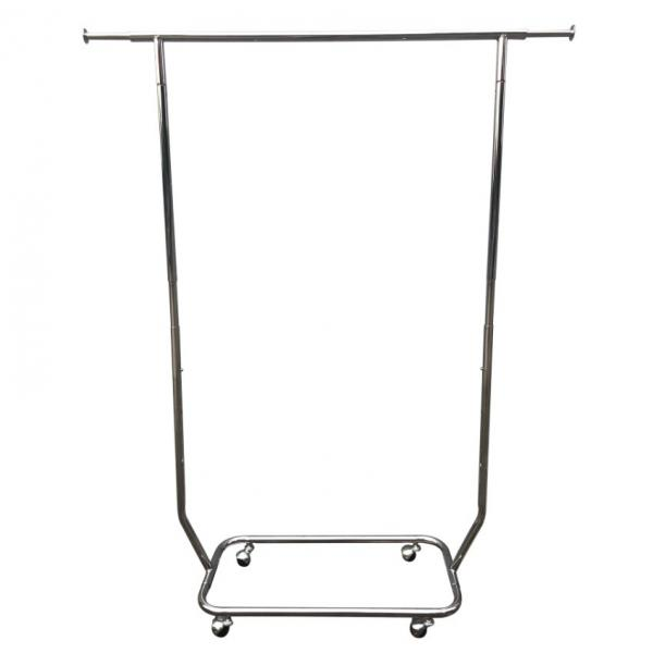Eco - Friendly Material Retail Clothing Fixtures / Island Clothing Display Racks #3 image