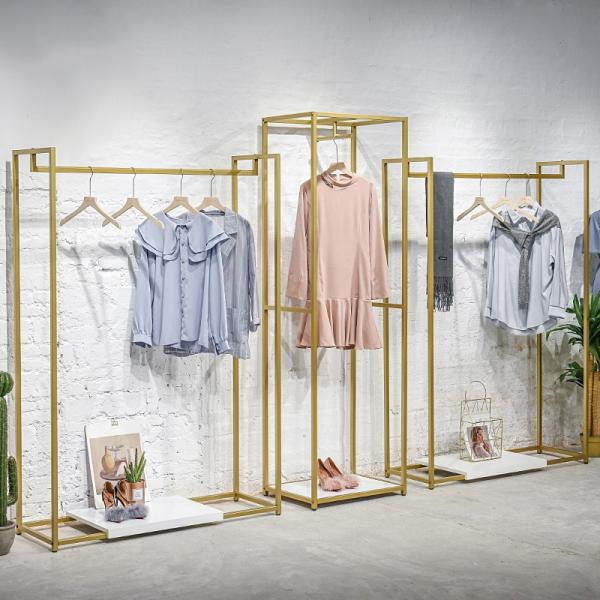 Good Design Removable Clothing Stores Display Stand Clothes Rack #2 image